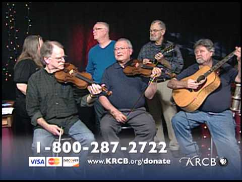 California State Old Time Fiddlers Association District 10 - in performance at KRCB-TV