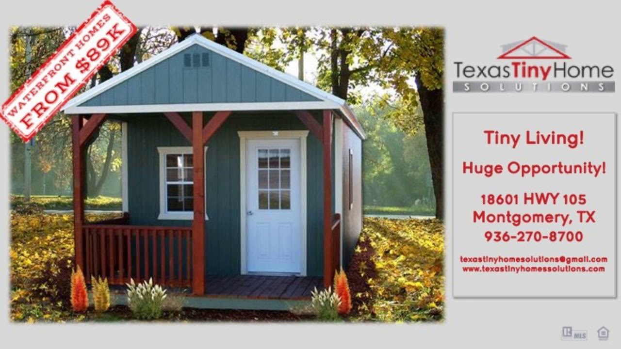 Montgomery Tiny Homes Dealer Youtube