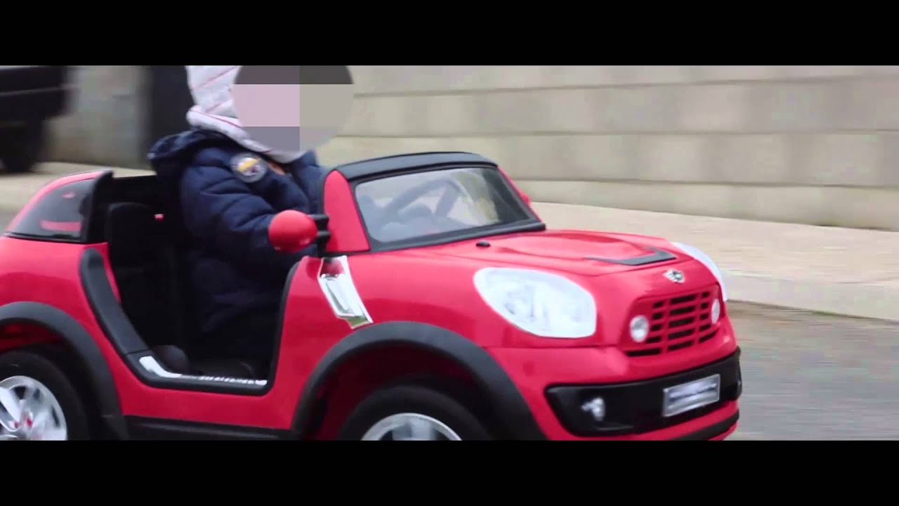 mini cooper beachcomber 12v electric kid car youtube