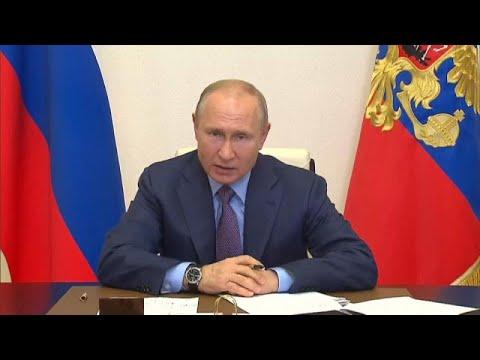 Vladimir Putin declara estado de emergência após derrame de