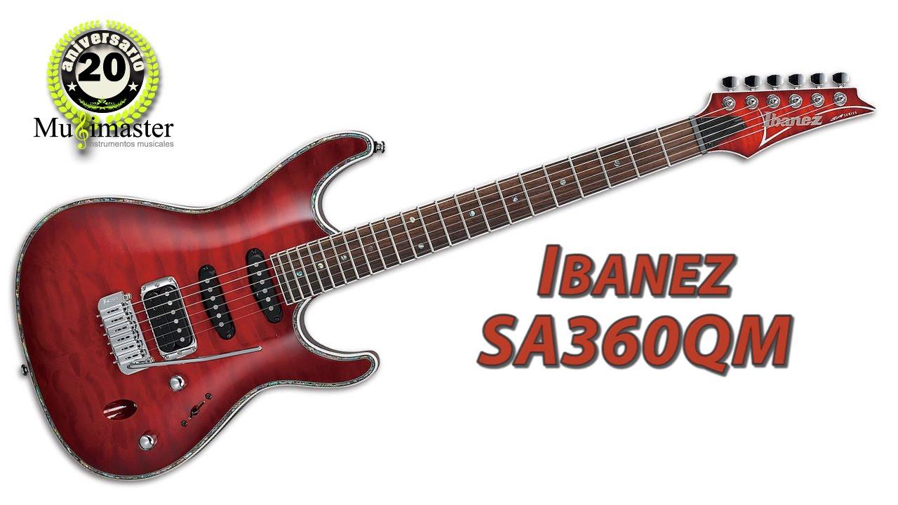 VENDIDA - Ibanez SA360QM + Marshall MG-30 CFX - YouTube