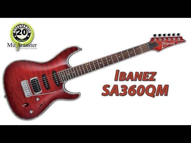 Ibanez SA360QM + Marshall MG-30 CFX