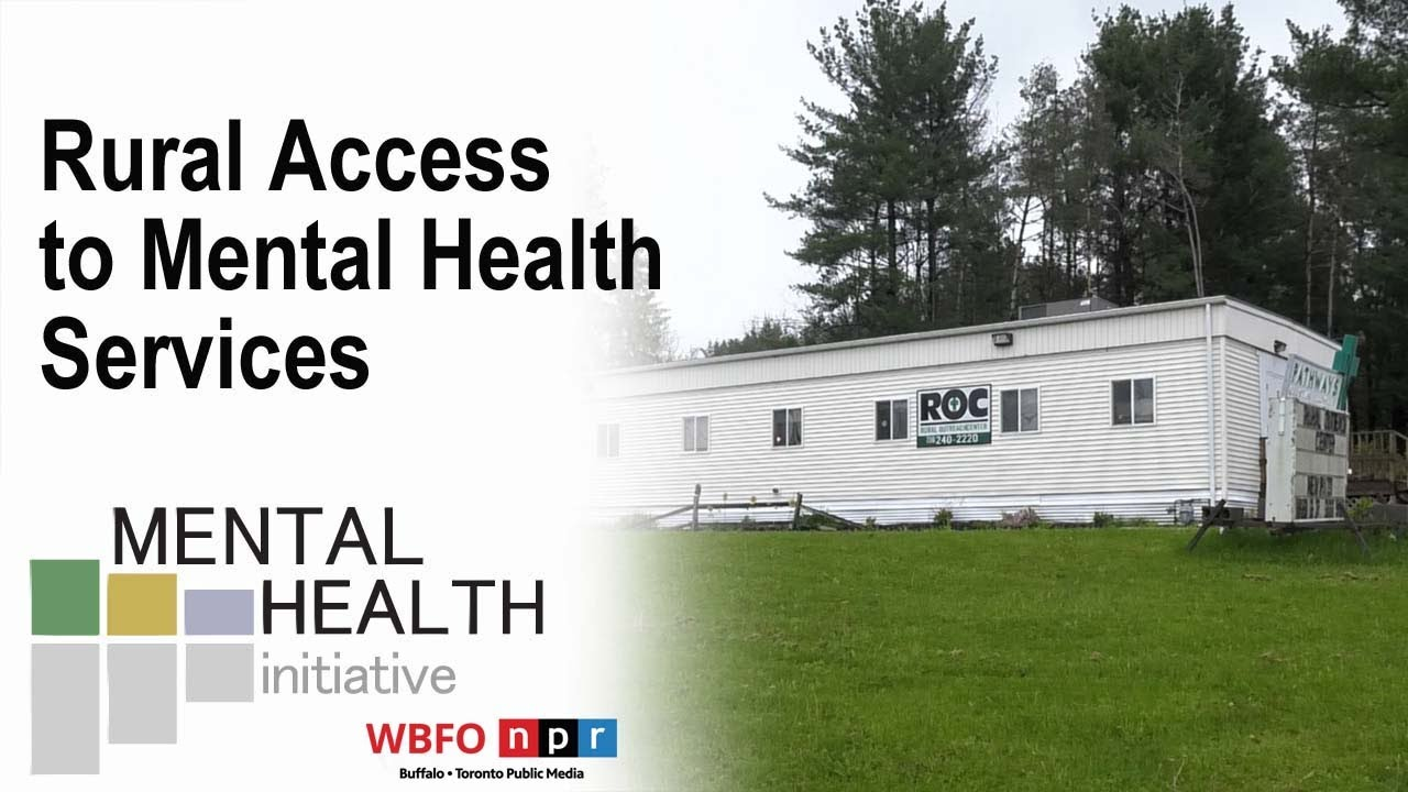 Image result for WBFO's Mental Health Initiative | Rural Access to Mental Health Services