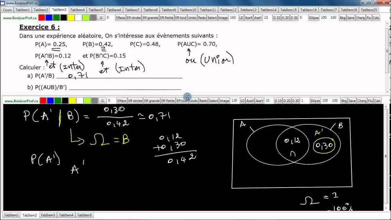 Secondaire 5 cstqubec probabilite conditionnelle et diagramme de secondaire 5 cstqubec probabilite conditionnelle et diagramme de venn exercice 6 page 11 ccuart Images