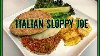 Italian Sloppy Joe Recipe
