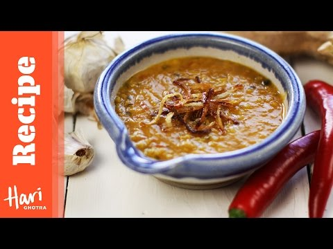 Red Lentil Dhal Recipe