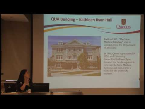 An introduction to Queen's University Archives and Canada's Academic Archives