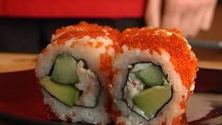 Пособие по приготовлению суши и японских супов. Видеоурок.