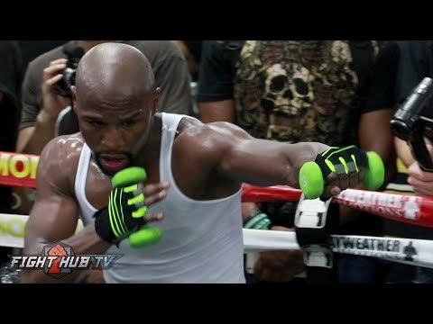 Thumbnail: FLOYD MAYWEATHER IN CRAZY SHAPE FOR MCGREGOR! SHOWS UNREAL STAMINA AFTER 2 HOUR WORKOUT