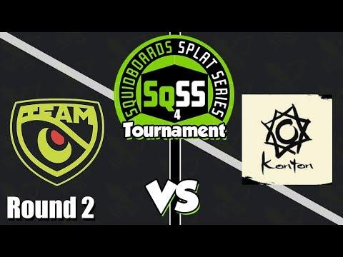 Splatoon 2 - Squidboards Splat Series 4: Team Olive vs Køntøn Knights (Round 2)