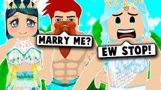 MERMAID WEDDING Ging falsch... (Roblox Bloxburg) Roblox Rollenspiel