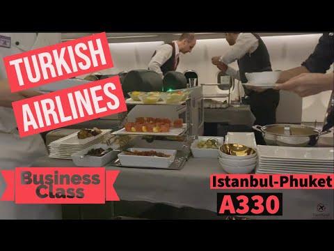 L'expérience Turkish Airlines en Business entre Istanbul et Phuket