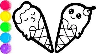 Max Ice Cream Belajar Menggambar dan Mewarnai untuk Anak-anak
