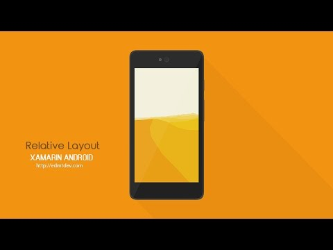 Xamarin Android Tutorial - Relative Layout