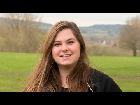 Zelia, from France is studying Economics, Politics and International Relations