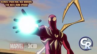 Ultimate Spider-Man: Web Warriors: The Next Iron Spider Clip