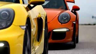 2015 Porsche 911 GT3 RS & Cayman GT4