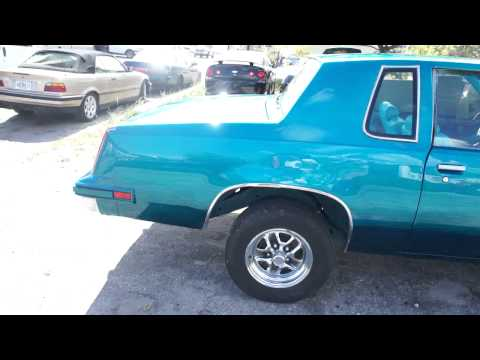 TOBY'S CUSTOM - CANDY TEAL CUTLASS IN THE MAKING STAY TUNED!!!