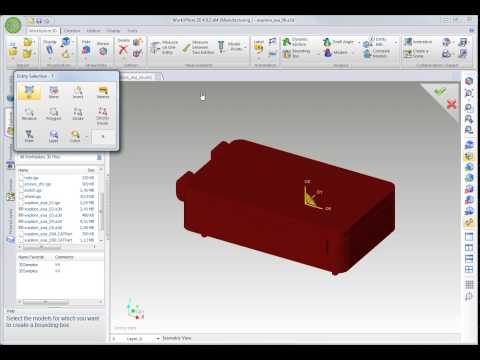 WorkXPlore 3D - バンダリーボックス