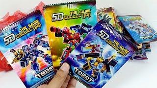 Download Video Kartu Mainan Tobot, Ultraman, Legen hero & Kamen rider - Part 3 MP3 3GP MP4
