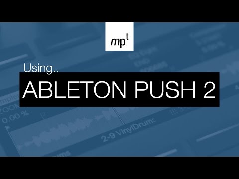 Ableton Push 2 - Drum and Chord Composition Session with Turf Smoke from Rawcutz