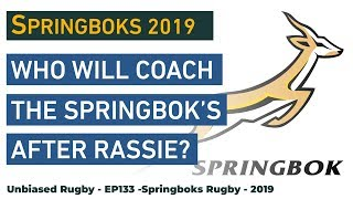 Who will coach the Springbok's after Rassie?