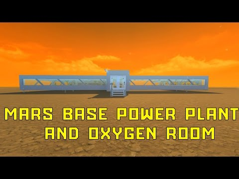 Power plant and oxygen room build LIVE