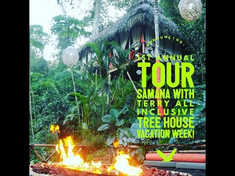 Ewok Village Tree House Hotel All Inclusive Vacation Week! Tour Samana With Terry
