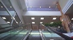 Sweden, Stockholm, Fisksätra Centrum, 2X escalator, 1X elevator
