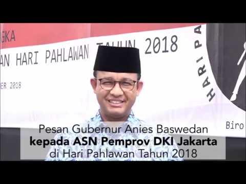 Pesan Gubernur Anies Baswedan di Hari Pahlawan kepada ASN Pemprov DKI Jakarta Mp3