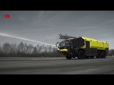 Rosenbauer Panther Powered by Volvo Penta