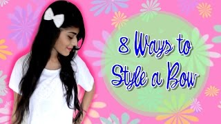 8 Ways To Style A Bow + Giveaway (Closed) Thumbnail