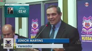 Júnior Martins   Pronunciamento Russas 21 01 2020