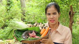 Cooking Fish Soup With Mushroom Delicious Recipe -  Fish Soup Recipes - Village Food Factory