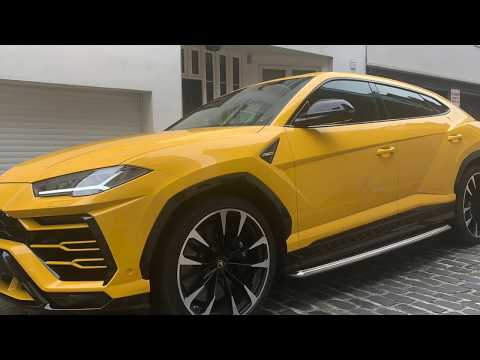 Lamborghini Urus - Season Car and Chauffeur Hire