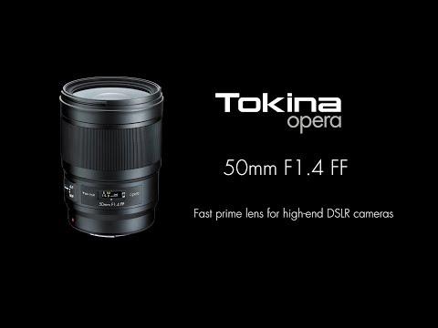 Tokina opera 50mm F1.4 FF Sales release teaser
