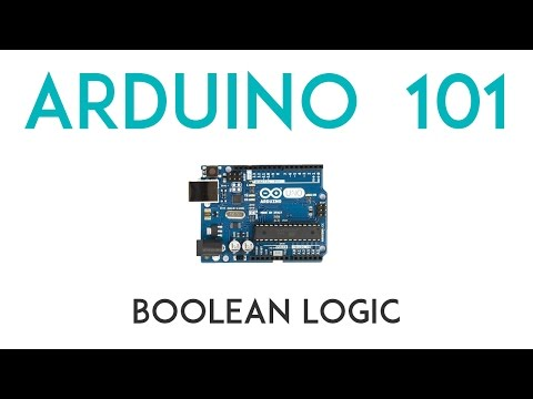 Arduino Lesson 5 - Boolean Logic - OR & AND Statements
