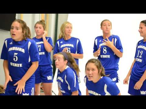 Indiana State womens soccer scare cam