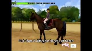 HORSE LIFE 2 WII - VIDEOGAME - NINTENDO WII / PC CD ROM - TRAILER 2 - 2008