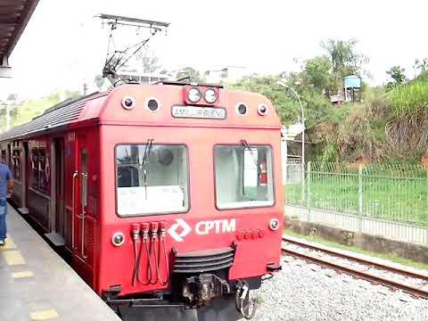 Trens de passageiros da CPTM série 5000,Ex-FEPASA em Itapevi-SP,entre o Centro,Sta Rita,e A.Bueno