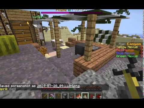 Minecraft Annihilation 4# Strenght Rush na zlutý :D