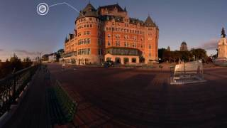 A Virtual Reality Stroll in Old Québec