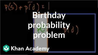 Probability that at least 2 people in a room of 30 share the same birthday | Probability and Statist