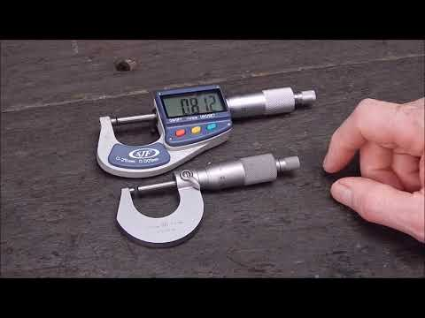 I review a cheap digital micrometer from Banggood - is it an