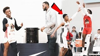 The TRUTH About LeBron James Jr. vs Emoni Bates! THE MATCHUP OF THE DECADE?