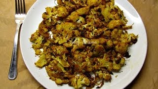 Roasted cauliflower (with Indian spices) / Indian recipes