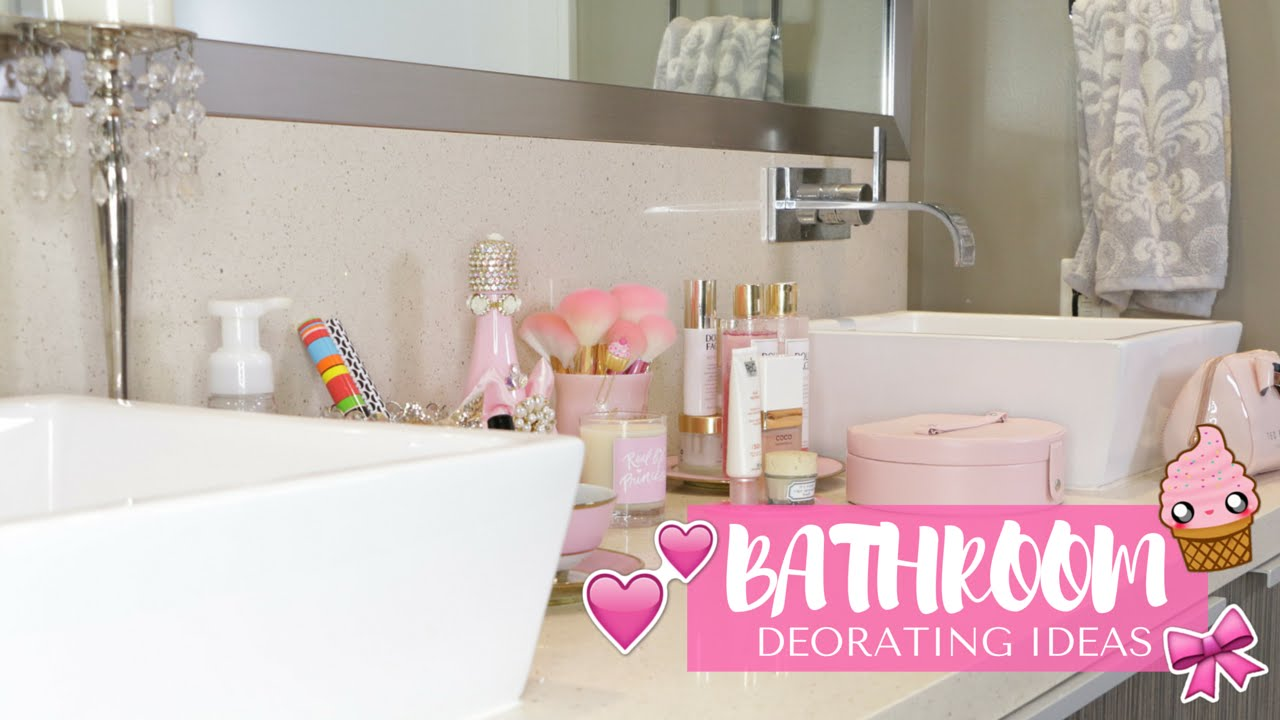 Bathroom Makeover??- Girly Decorating Ideas!?? -SLMissGlam??