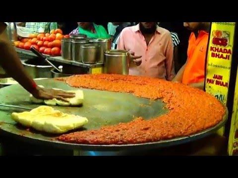 Pav Bhaji - A Mega Video On The Best Street Food Of Mumbai, India.