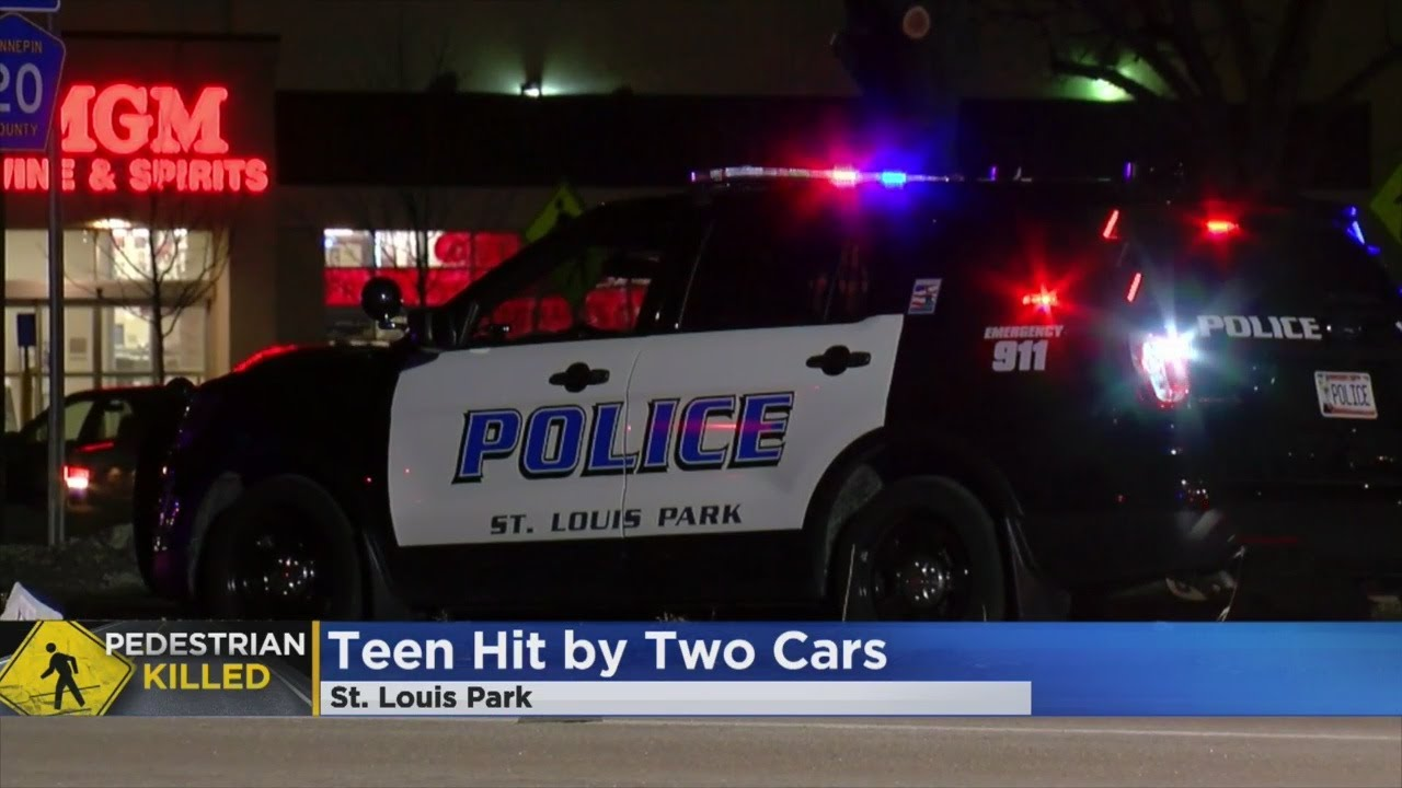 Teen Dies After Being Struck By 2 Cars In St. Louis Park