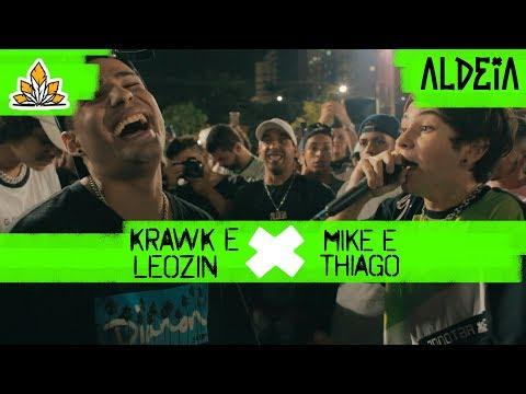 Leozin e Krawk x Thiago e Mike | GRANDE FINAL | 135ª Batalha da Aldeia | Barueri | SP